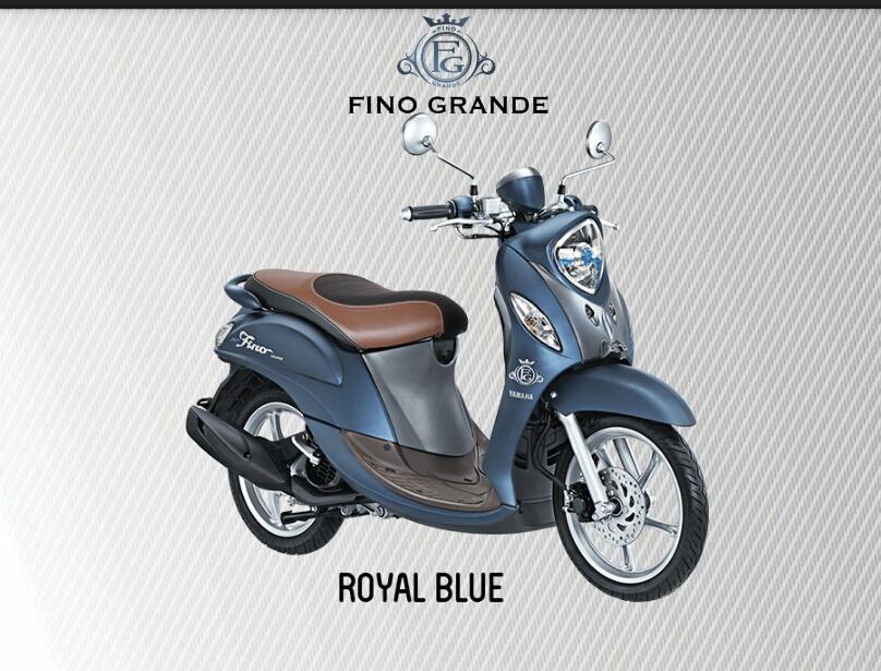 New Produk Yamaha Fino Grande 125cc Blue Core 2017 ...