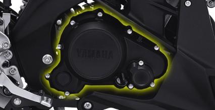 150CC ENGINE Mesin injeksi Yamaha 150cc yang sudah teruji tangguh dan awet, dengan tenaga yang responsif dan irit