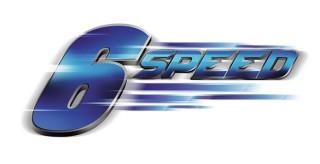 6 SPEED ENGINE Akselerasi lebih mantap dan responsif karena tenaga mesin lebih terdistribusi merata.