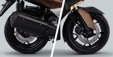 ABS (ANTI-LOCK BRAKE SYSTEM) Kontrol pengereman yang lebih maksimal dengan ABS, membuat berkendara lebih aman.