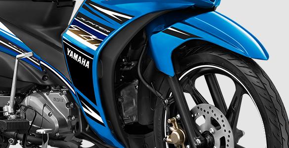 AERODYNAMIC AIR FLOW SYSTEM Lekukan air flow system pada fairing terinspirasi dari Moto GP.
