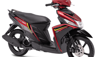 Yamaha Mio M3 attractive red
