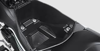 BAGASI SERBA GUNA Bagasi dengan kapasitas 9,2 Liter adalah yang terbesar di kelasnya.