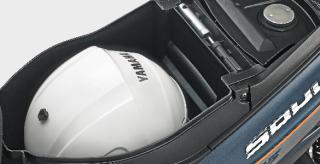 BAGASI LUAS & LEGA Lebih banyak menampung barang bawaan dengan kapasitas 14 Liter.