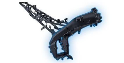 DELTABOX FRAME Rangka Deltabox yang kuat dan kokoh, membuat berkendara lebih stabil