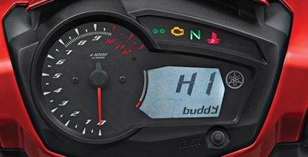 DIGITAL HUMANIC SPEEDOMETER Digital humanis speedometer dengan personal greeting dilengkapi dengan ODO meter dan dapat diisi dengan nama anda, yang memberikan kesan sporty.