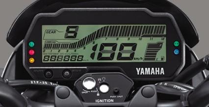 """DIGITAL SPEEDOMETER (NEW) Desain speedometer yang dilengkapi dengan instrumen full digital dengan sapaan humanis """"HI BUDDY*""""."""