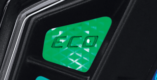 ECO INDICATOR Eco Indicator yang dapat digunakan pada Mio M3 AKS SSS membuatnya semakin irit lagi karena bisa mengingatkan pengendara untuk berkendara dalam kecepatan stabil dan konstan (20 – 60 km/jam)