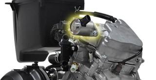 ENGINE 155CC LC4V WITH VVA Mesin 155 cc, 6 percepatan, 4 Katup, dan dilengkapi Variable Valve Actuation (VVA) akan menjadikan torsi Merata di setiap putaran mesin. Dilengkapi juga dengan Liquid Cooled yang akan membuat suhu mesin stabil.