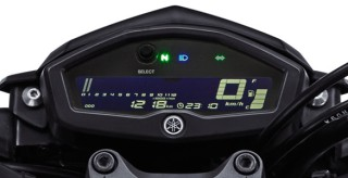 FULL LED SPEEDOMETER Speedometer digital multifungsi, lebih informatif, dan mudah terlihat.