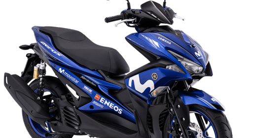 Harga Motor Yamaha Aerox 155 GP Movistar Cash Dan Kredit