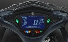 5.8 LCD DISPLAY Speedometer full digital yang modern dan informatif bagi pengendara.