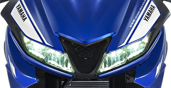 LED HEAD LIGHT Lampu depan menggunakan teknologi LED yang memancarkan cahaya lebih terang, lebih hemat energi, dan tahan lama