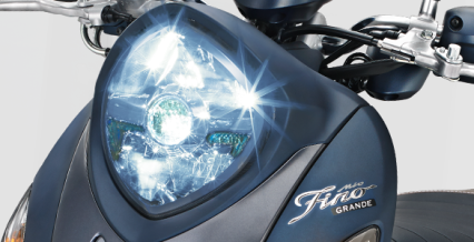 LED HEADLIGHT Dilengkapi lampu depan LED dengan desain elegan yang memberikan cahaya lebih terang dan fokus