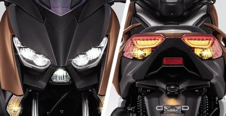 LED HEAD & TAIL LIGHT WITH DRL Perpaduan keindahan lampu depan dan belakang LED yang juga dilengkapi dengan DRL (Daytime Running Light) menampilkan karakter mewah dan sporty.