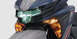 LED HEAD LIGHT Lebih terang dan awet dengan desain yang agresif.