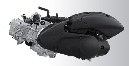 ENGINE 155CC WITH BLUE CORE + VVA Mesin 155cc yang dilengkapi dengan Blue Core dan VVA (Variable Valve Actuation) membuat performa tarikan mesin lebih bertenaga.
