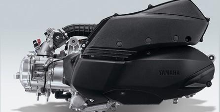 POWERFUL 250 CC BLUE CORE ENGINE Mesin Blue Core 250 CC dengan performa paling besar dikelasnya, juga dilengkapi Liquid Cooled- 4 Valve yang telah dikembangkan untuk akselerasi ultimate. Lebih awet dan daya tahan yang kuat dengan Forged Piston & DiASil Cylinder.