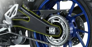 NEW DESIGN ALUMINIUM REAR ARM Aluminium Rear Arm yang kokoh dan memiliki bobot yang ringan, memberikan pengendalian sepeda motor yang lebih stabil