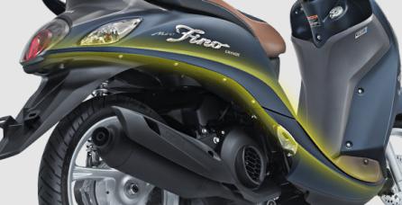 S SHAPE DESIGN Design body yang ramping dengan sentuhan gaya elegan.