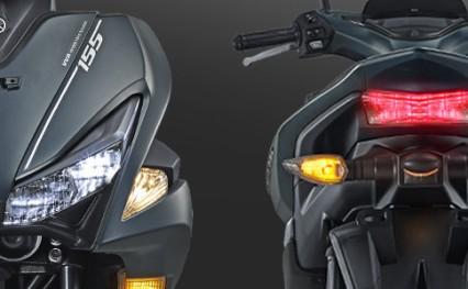 SPORTY LED HEADLIGHT & TAIL Lampu depan dan belakang LED dengan desain sporty, lebih terang dan lebih awet.
