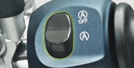 STOP & START SYSTEM Fitur eksklusif dengan sistem otomatis yang membuat mesin STOP/Mati saat berhenti lebih dari 5 detik dan START/Menyala kembali saat tuas gas diputar