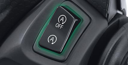 STOP & START SYSTEM (SSS) Fitur Eksklusif dengan system otomatis yang membuat mesin mati saat berhenti lebih dari 5 detik