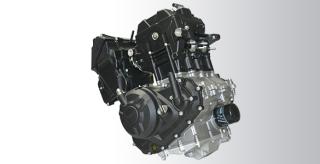 SUPERBIKE ENGINE 250 CC, 2 Silinder, DOHC, 8 Valves, 6 Speed, dan Liquid Cooled.
