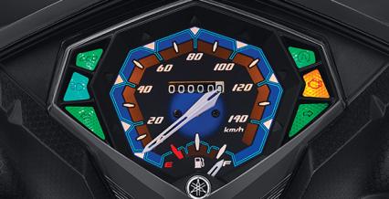 TRENDY SPEEDOMETER Speedometer dengan tampilan baru yang fresh.
