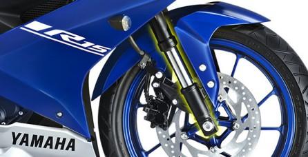 UP SIDE DOWN FRONT SUSPENSION Handling lebih sempurna, motor lebih stabil, dan terlihat semakin gagah saat berkendara
