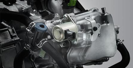 VARIABLE VALVE ACTUATION (VVA) Teknologi VVA menjaga tenaga dan torsi maksimum di setiap putaran mesin.