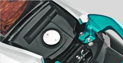 TANKI BENSIN 4.2L Jarak tempuh lebih jauh dengan kapasitas tangki bahan bakar paling besar dikelasnya