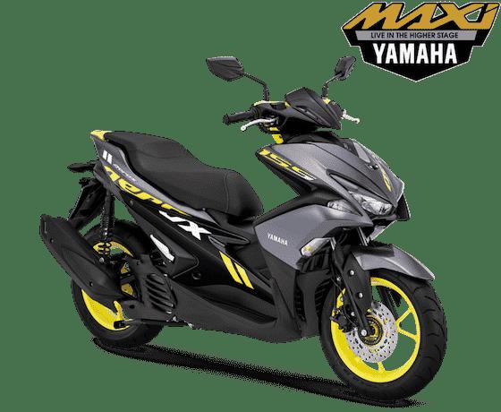 Yamaha Aerox 155 Matte Grey