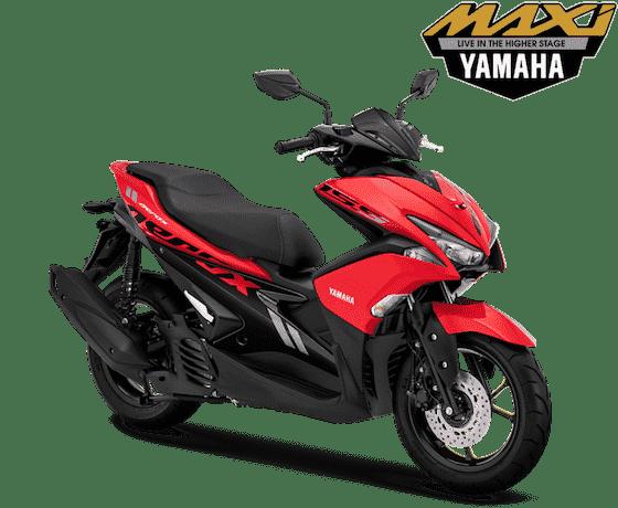 Yamaha Aerox 155 Red