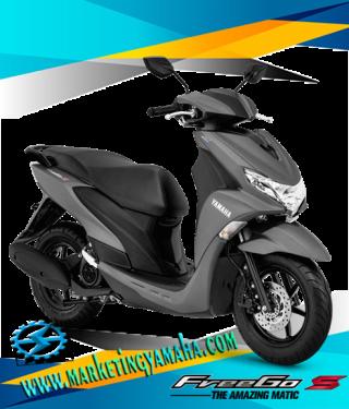 Harga Motor Yamaha Freego S Abs Terbaru - Warna Abu-abu