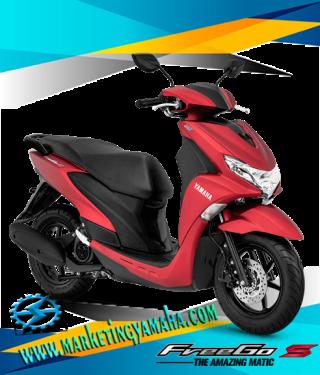 Harga Motor Yamaha Freego S Abs Terbaru - Warna Merah