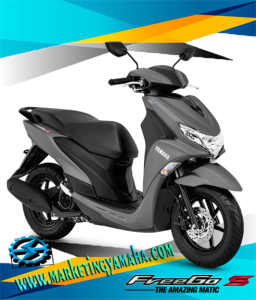 Harga Motor Yamaha Freego S Terbaru - Warna Abu-abu