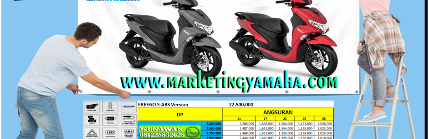 kredit yamaha freego s abs