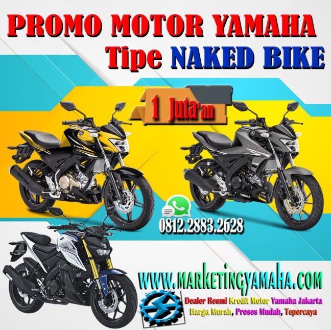 promo kredit motor yamaha tipe naked bike murah