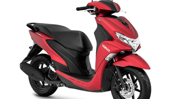 Yamaha Freego S matte red