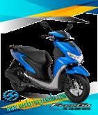 Yamaha Freego Terbaru Warna Biru