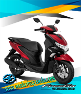 Yamaha Freego Terbaru Warna Merah
