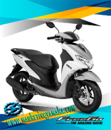 Yamaha Freego Terbaru Warna Putih