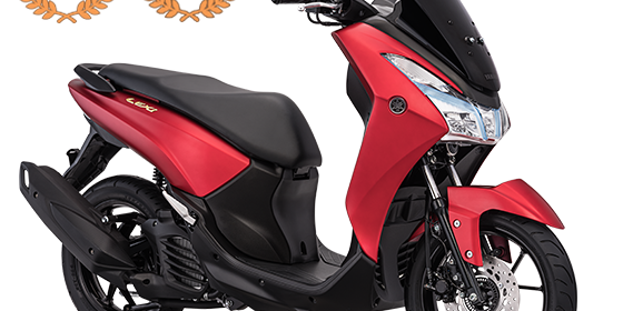 Yamaha Lexi 125 - Matte Red