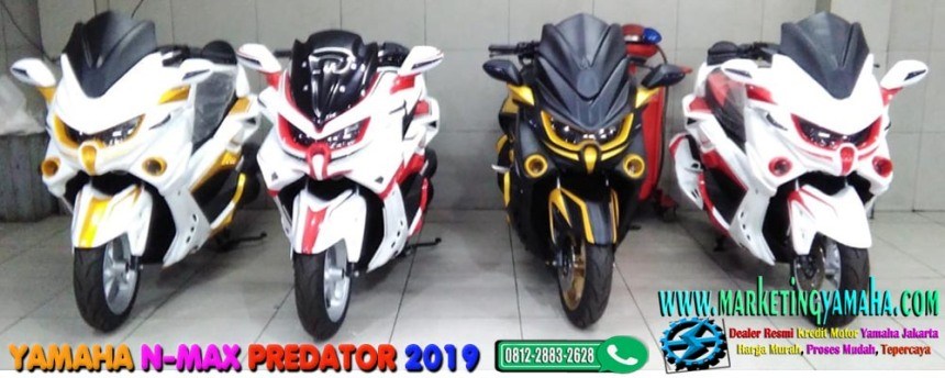 Yamaha N-max Predator