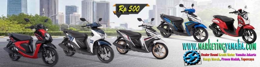 Harga Motor Matic Yamaha Cash dan Kredit Murah