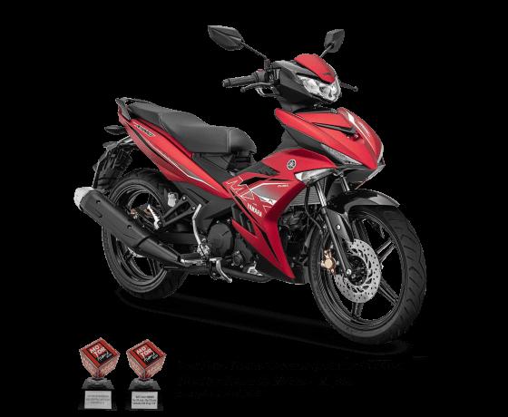 Yamaha MX King Matte Red