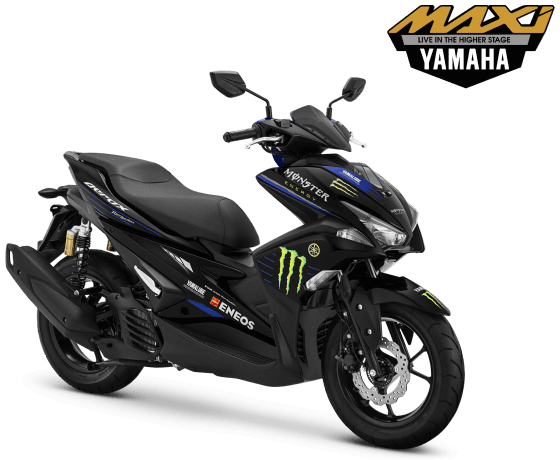 Harga Cash dan Kredit Yamaha Aerox R Monster Energy