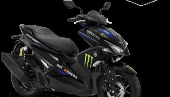 Harga Cash dan Kredit Yamaha Aerox R Monster Energy