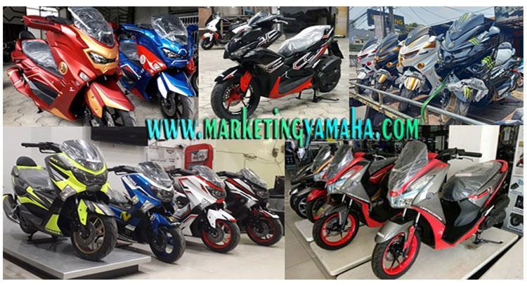 Modifikasi Motor Baru Yamaha